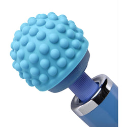 LoveCubby - Wand Massagers - Wand Essentials Blue Massage Bumps Silicone Attachment by Wand Essentials
