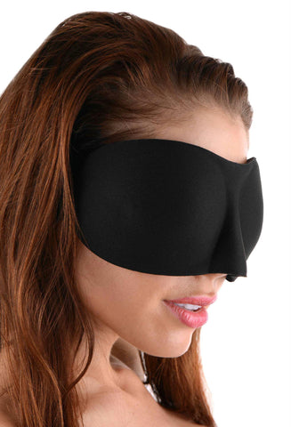 LoveCubby - Hoods & Blindfolds - Frisky Deluxe Black Out Blindfold by Frisky