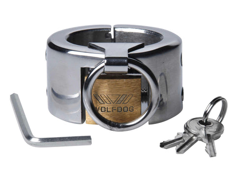 LoveCubby - Cock And Ball Torment - Lucifers Stainless Steel CBT Chamber by Master Series