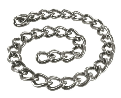 LoveCubby - Restraints - Linkage 12 Inch Steel Chain by Master Series