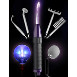 LoveCubby - Electrosex - Zeus Twilight Wand Electrify Me Ultimate Accessory Kit- 110 v by Zeus Electrosex