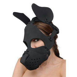 LoveCubby - Muzzles - Neoprene Dog Hood with Removable Muzzle by Master Series