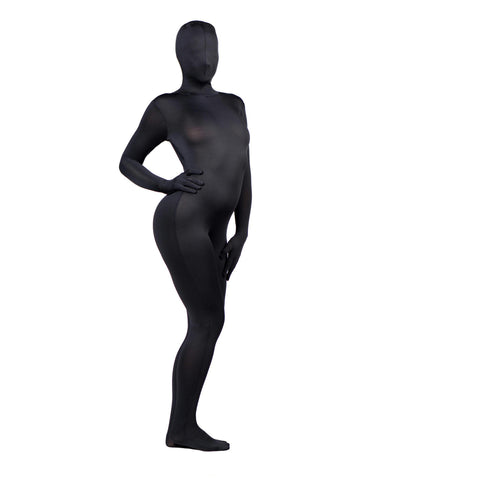 LoveCubby - Clothing & Lingerie - Zentai Full Body Spandex Suit- Black by Master Series
