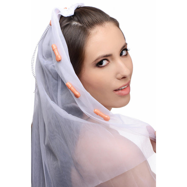 LoveCubby - Games & Parties - Bachelorette Party Penis Bridal Veil by Sc Novelties