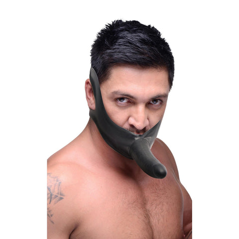 LoveCubby - Mouth Gags - Face Fuk Strap On Mouth Gag by Master Series