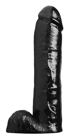 LoveCubby - Realistic Dildos - Towering Tyrone 11 Inch Black Dildo by Master Cock