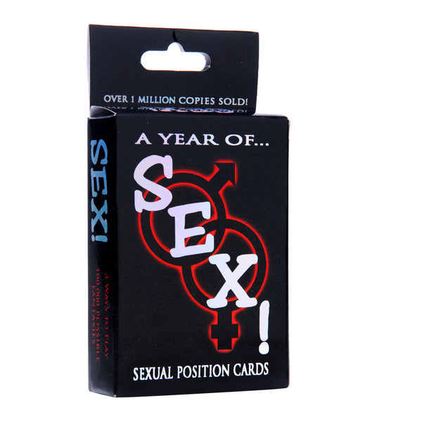 LoveCubby - Games & Parties - A Year of Sex! Sexual Position Card Game by Kheper Games