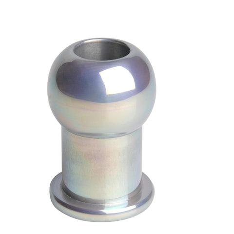 LoveCubby - Butt Plugs - Hollow Aluminum Anal Plug- SM by Master Series
