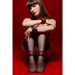 LoveCubby - Restraints - Crimson Tied Wrist and Ankle Bondage Kit by Master Series