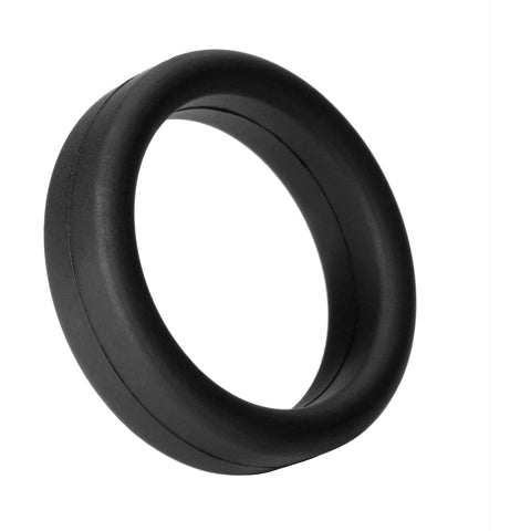 LoveCubby - Cock Rings - Tantus Super Soft C-Ring- Black by Tantus