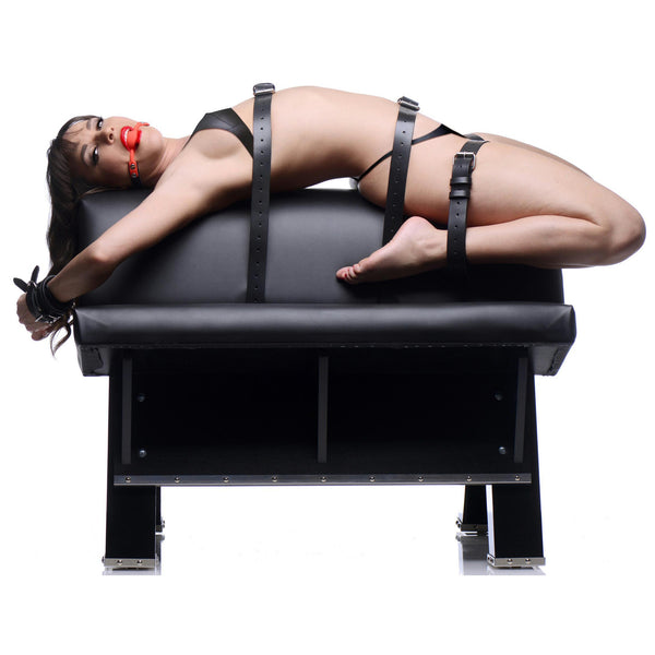 LoveCubby - Swings & Sex Aids - Ultimate Dungeon Essentials Kit with Bondage Horse by Master Series