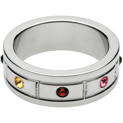 LoveCubby - Cock Rings - Jeweled Cock Ring- 1.95 Inch by Master Series