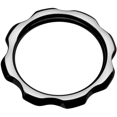 LoveCubby - Cock Rings - Gear Head Metal Cock Ring- 2 inch by Master Series