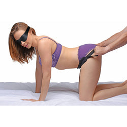 LoveCubby - Swings & Sex Aids - Doggie Style Strap Kit with Blindfold by Frisky