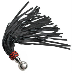 LoveCubby - Impact - Premium Leather Ball Handle Flogger by Strict Leather