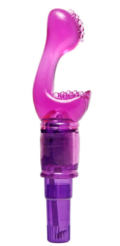 LoveCubby - Rabbit Vibrators - Twice as Nice Compact G-Spot Dual Stimulation Vibe by Trinity Vibes