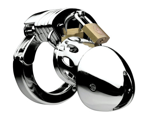LoveCubby - Chastity - Incarcerator Adjustable Locking Chastity Cage by Master Series