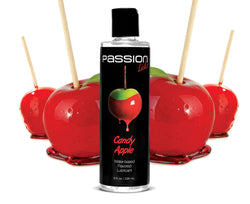 LoveCubby - Personal Lubricants - Passion Licks Candy Apple Water Based Flavored Lubricant - 8 oz by Passion Lubricants