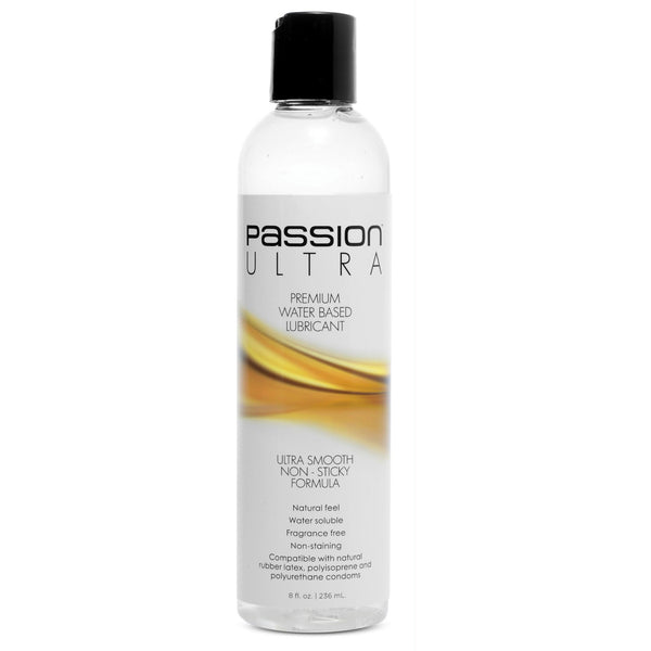 LoveCubby - Personal Lubricants - Passion Ultra Premium Water-based Lube 8oz by Passion Lubricants