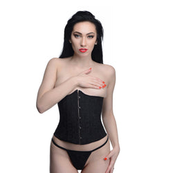 LoveCubby - Clothing & Lingerie - Waist Trainer Corset with Panties- Medium by Master Series