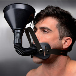 LoveCubby - Mouth Gags - Latrine Extreme Funnel Gag by Master Series