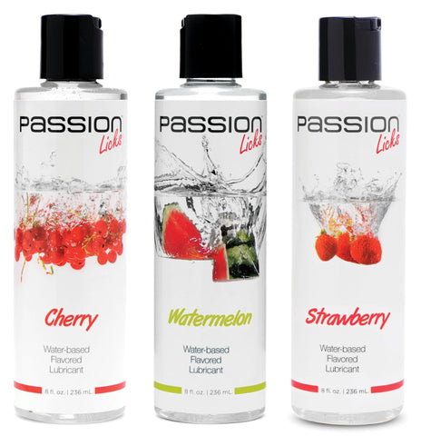 LoveCubby - Personal Lubricants - Passion Licks 3 Flavor Kit by Passion Lubricants