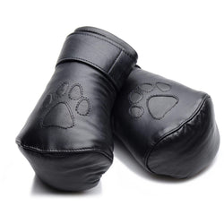 LoveCubby - Misc. Bondage Gear - Strict Leather Padded Puppy Mitts by Strict Leather