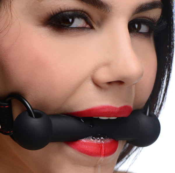 LoveCubby - New Products - Silicone Bit Gag by Strict