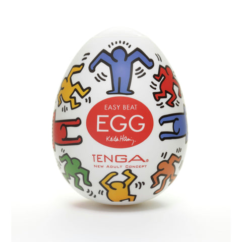 LoveCubby - Masturbators - Tenga Egg - Keith Haring Dance by Egg Series