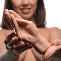The Stuffer Fisting Hand Dildo - Flesh