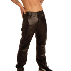 LoveCubby - Clothing & Lingerie - Mens Black Leather Pants by Strict Leather