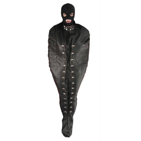 LoveCubby - Restraints - Premium Leather Sleep Sack- Small by Strict Leather