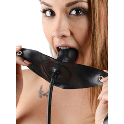 LoveCubby - Mouth Gags - Penis-Shaped Inflatable Gag by Sc Novelties