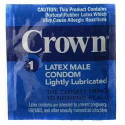 LoveCubby - Condoms - Crown Condoms 48 pack by Crown Condoms