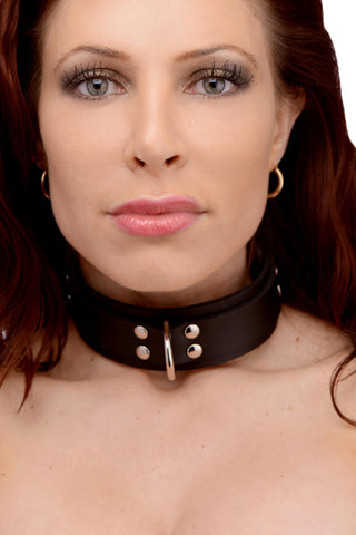 LoveCubby - Collars - Slim Line Rubber Collar by Strict Leather