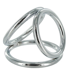 LoveCubby - Cock Rings - The Triad Chamber Cock and Ball Ring- Large by Master Series