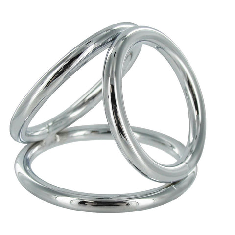 LoveCubby - Cock Rings - The Triad Chamber Cock and Ball Ring- Medium by Master Series