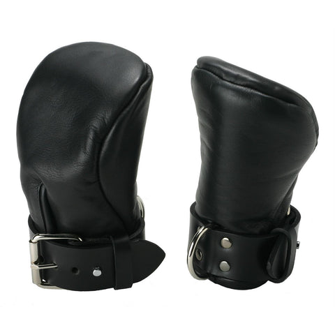LoveCubby - Misc. Bondage Gear - Strict Leather Deluxe Padded Fist Mitts- SM by Strict Leather