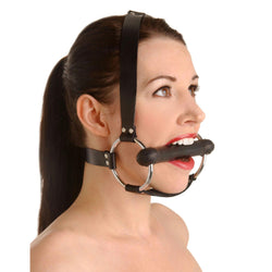LoveCubby - Mouth Gags - Strict Leather Locking Silicone Trainer Gag by Strict Leather