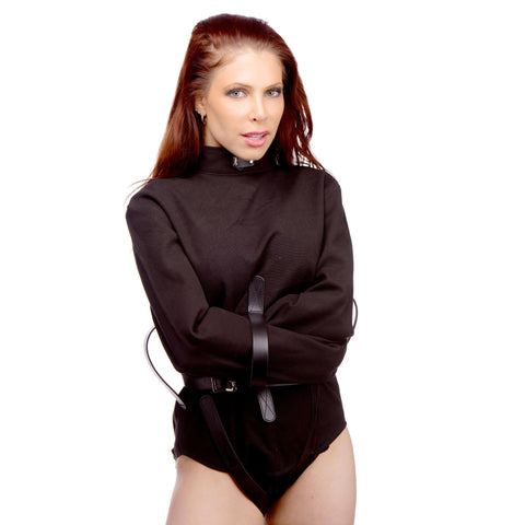 LoveCubby - Restraints - Strict Leather Black Canvas Straitjacket- Small by Strict Leather