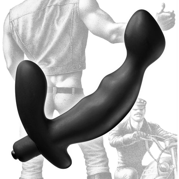 LoveCubby - Prostate Massagers - Tom of Finland Silicone P-Spot Vibe by Tom Of Finland