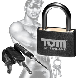 LoveCubby - Misc. Bondage Gear - Tom of Finland Metal Lock by Tom Of Finland