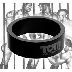 LoveCubby - Cock Rings - Tom of Finland 50mm Aluminum Cock Ring by Tom Of Finland