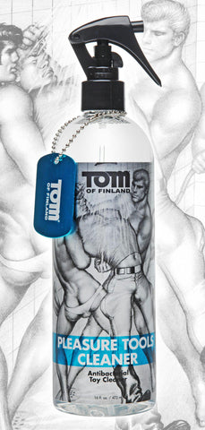 LoveCubby - Sex Toys Cleaners - Tom of Finland Pleasure Tools Cleaner- 16oz by Tom Of Finland