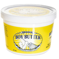 LoveCubby - Personal Lubricants - Boy Butter 16oz Tub by Boy Butter Lubricants