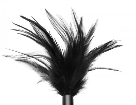 LoveCubby - Misc. Bondage Gear - Le Plume Feather Tickler - Black by Greygasms