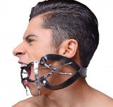 LoveCubby - Mouth Gags - Ratchet Style Jennings Mouth Gag with Strap by Master Series