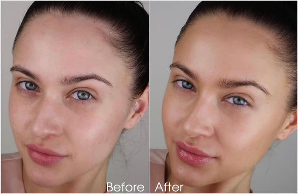 Face mist before-after