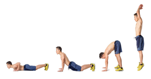 Walk-Out Push-Up atau Burpee