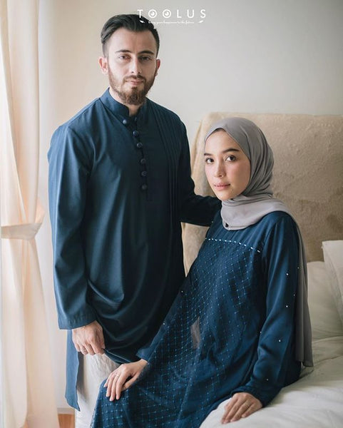 model baju lebaran couple